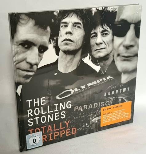Rolling Stones Totally Stripped - Deluxe Edition - 4-Blu-Ray/1-CD DVD German ROLDDTO771426