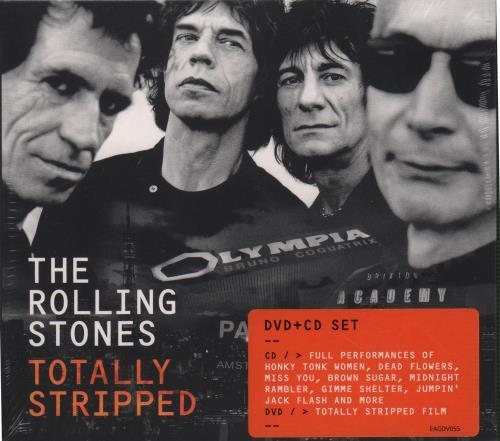 Rolling Stones Totally Stripped - Sealed US 2-disc CD/DVD