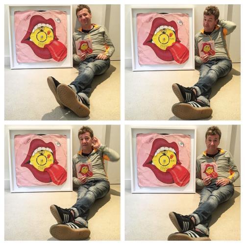 Rolling Stones Tumblin' Dice - SuperSizeArt Oversize Framed Print artwork UK ROLARTU733238
