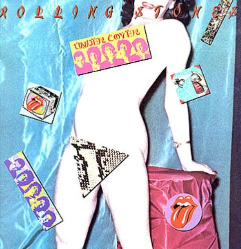 Rolling Stones Undercover + lyric insert vinyl LP album (LP record) UK ROLLPUN77711