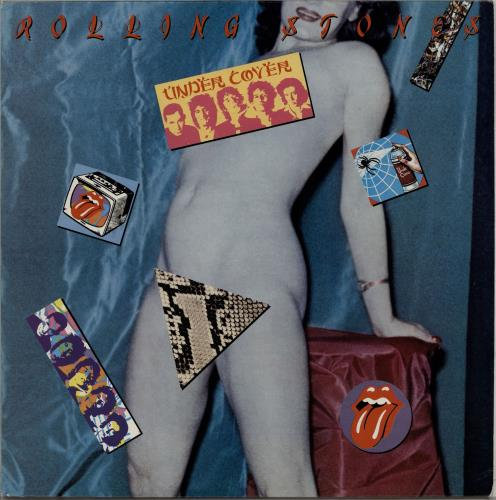 Rolling Stones Undercover + Subscription Insert vinyl LP album (LP record) UK ROLLPUN765035