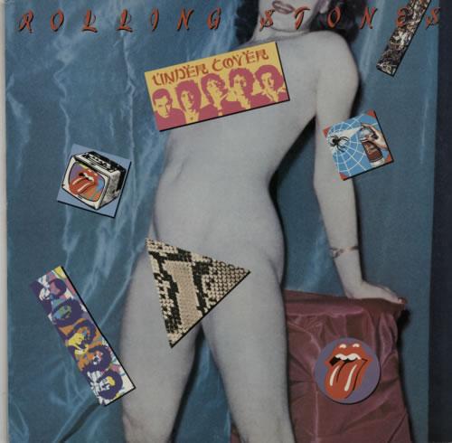 Rolling Stones Undercover - sample stickered p/s vinyl LP album (LP record) UK ROLLPUN590977