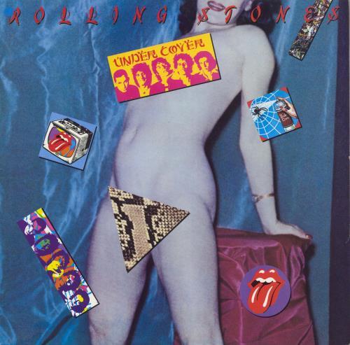 Rolling Stones Undercover vinyl LP album (LP record) German ROLLPUN643521
