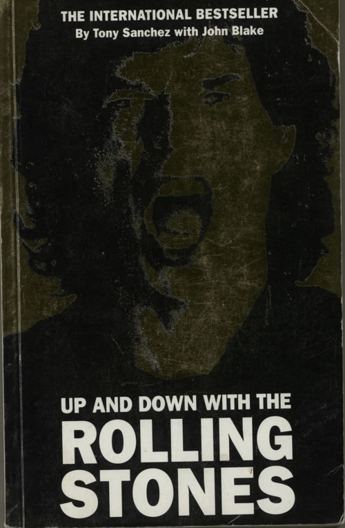 Rolling Stones Up And Down With The Rolling Stones book UK ROLBKUP617193