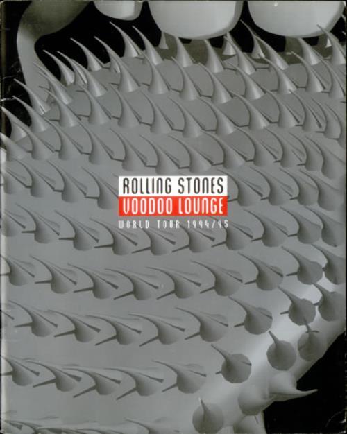 Rolling Stones Voodoo Lounge - English Language tour programme UK ROLTRVO54040