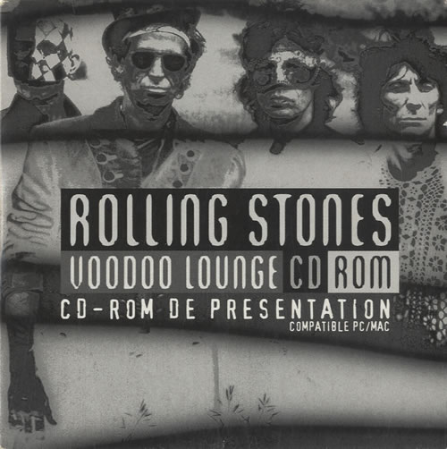 Rolling Stones Voodoo Lounge CD Rom CD-ROM French ROLROVO529527