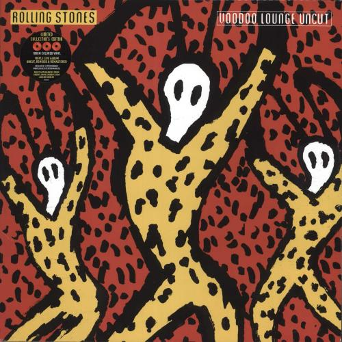 Rolling Stones Voodoo Lounge Uncut - Red Vinyl 3-LP vinyl record set (Triple Album) US ROL3LVO718938