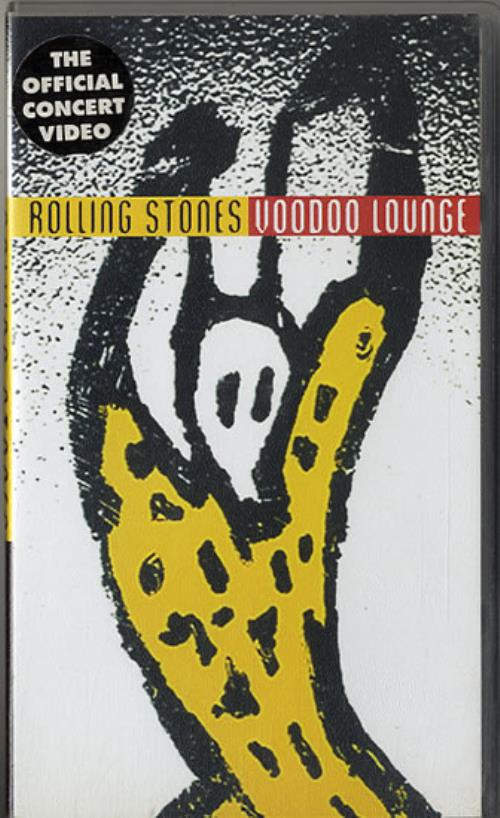 Rolling Stones Voodoo Lounge video (VHS or PAL or NTSC) UK ROLVIVO631891