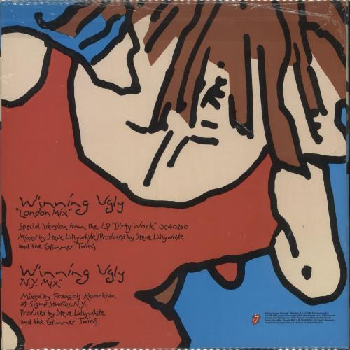 "Rolling Stones Winning Ugly - shrink 12"" vinyl single (12 inch record / Maxi-single) Canadian ROL12WI718118"
