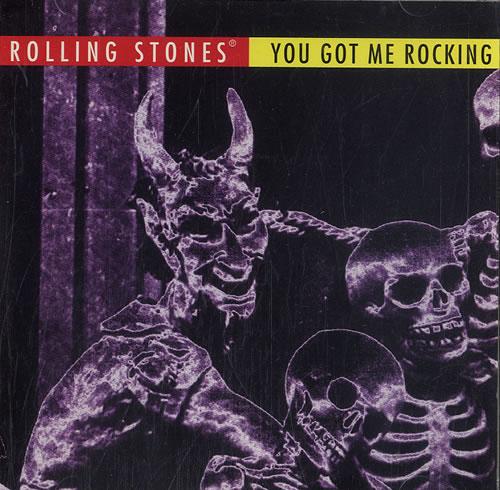 "Rolling Stones You Got Me Rocking + Holographic Sticker CD single (CD5 / 5"") US ROLC5YO39818"