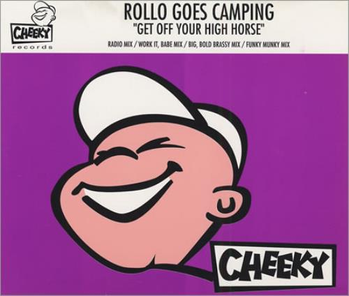 """Rollo Get Off Your High Horse CD single (CD5 / 5"""") German OLOC5GE401193"""