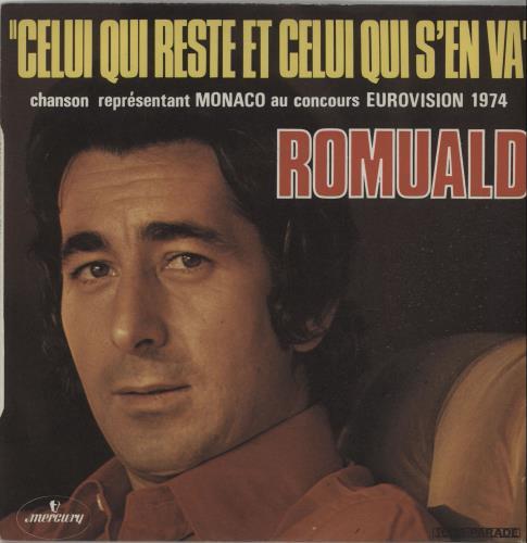 "Romuald Celui Qui Reste Et Celui Qui S'En Va 7"" vinyl single (7 inch record) French X1M07CE656815"