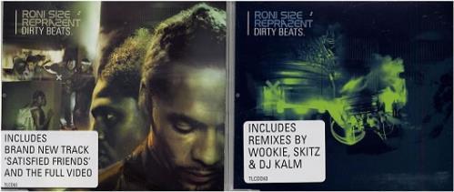 Roni Size Reprazent Dirty Beats 2-CD single set (Double CD single) UK RSZ2SDI179473