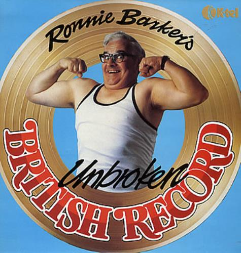 Ronnie Barker Ronnie Barker's Unbroken British Record vinyl LP album (LP record) UK R0PLPRO294053