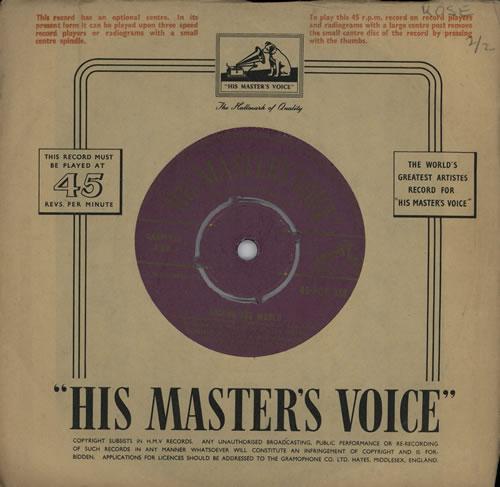 "Ronnie Hilton Around The World 7"" vinyl single (7 inch record) UK HL307AR572497"