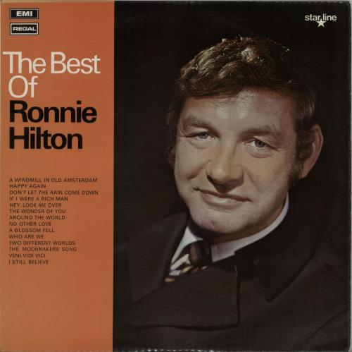 Ronnie Hilton The Best Of vinyl LP album (LP record) UK HL3LPTH646105