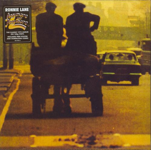 Ronnie Lane Anymore For Anymore - 180g + Poster - Sealed vinyl LP album (LP record) UK RNLLPAN772005