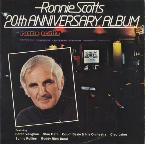Ronnie Scott Ronnie Scott's 20th Anniversary Album 2-LP vinyl record set (Double Album) UK RB12LRO469844