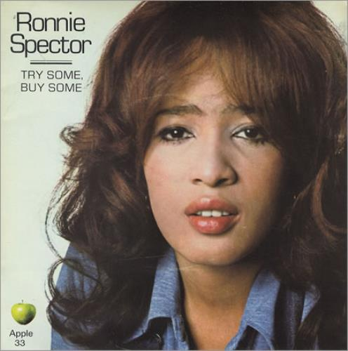 "Ronnie Spector Try Some, Buy Some - P/S - Mint 7"" vinyl single (7 inch record) UK ISP07TR212367"
