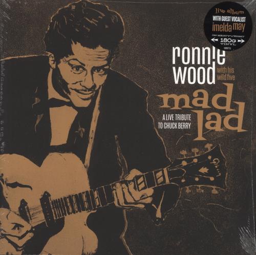 Ronnie Wood Mad Lad: A Live Tribute To Chuck Berry - 180gm Vinyl - Sealed vinyl LP album (LP record) UK RNWLPMA733725