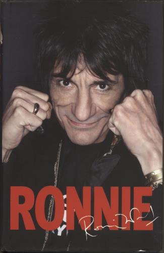 Ronnie Wood Ronnie book UK RNWBKRO708715