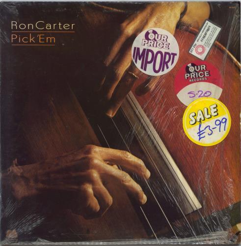 Ron Carter Pick 'Em vinyl LP album (LP record) US R/CLPPI626589