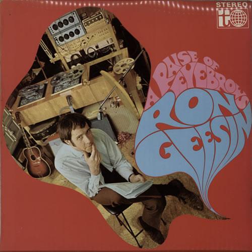 Ron Geesin A Raise Of Eyebrows vinyl LP album (LP record) UK RCBLPAR583288