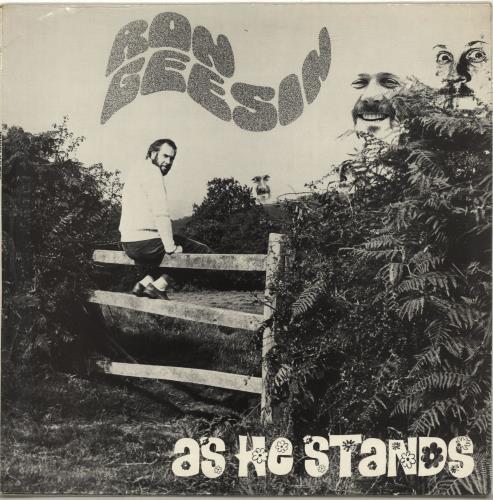 Ron Geesin As He Stands vinyl LP album (LP record) UK RCBLPAS689945