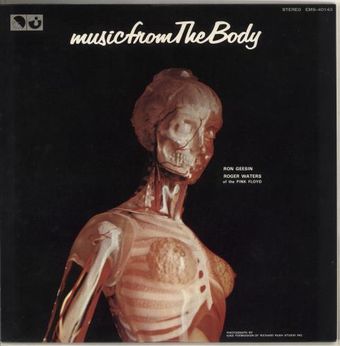 Ron Geesin Music From The Body vinyl LP album (LP record) Japanese RCBLPMU307439