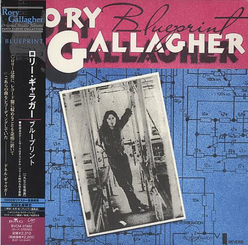 Rory gallagher blueprint japanese cd album cdlp 394621 rory gallagher blueprint cd album cdlp japanese rorcdbl394621 malvernweather