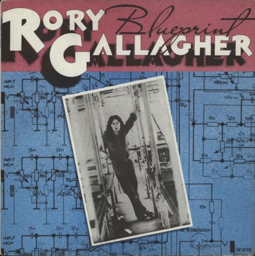 Rory Gallagher Blueprint vinyl LP album (LP record) UK RORLPBL591586