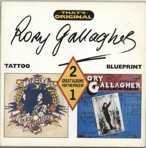 Rory gallagher tattoo blueprint uk 2 lp vinyl record set double rory gallagher tattoo blueprint 2 lp vinyl record set double album uk malvernweather Image collections