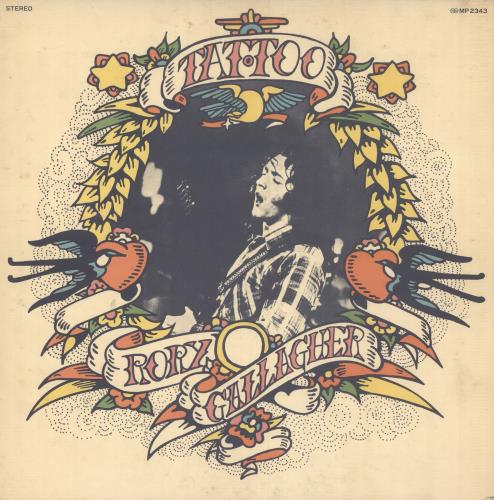 Rory Gallagher Tattoo vinyl LP album (LP record) Japanese RORLPTA746880