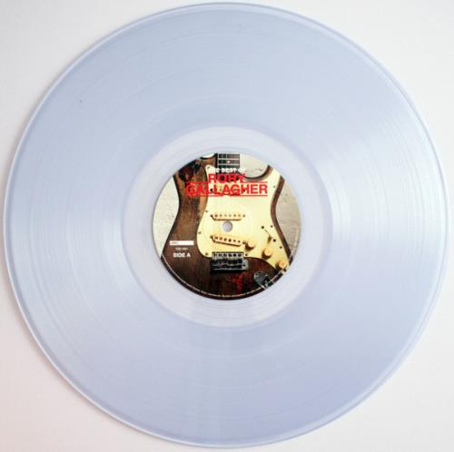 Rory Gallagher The Best Of - Clear Vinyl - Sealed 2-LP vinyl record set (Double Album) UK ROR2LTH763826