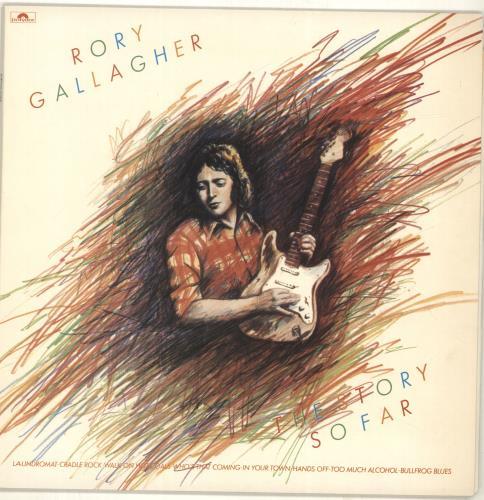 Rory Gallagher The Story So Far vinyl LP album (LP record) UK RORLPTH691216