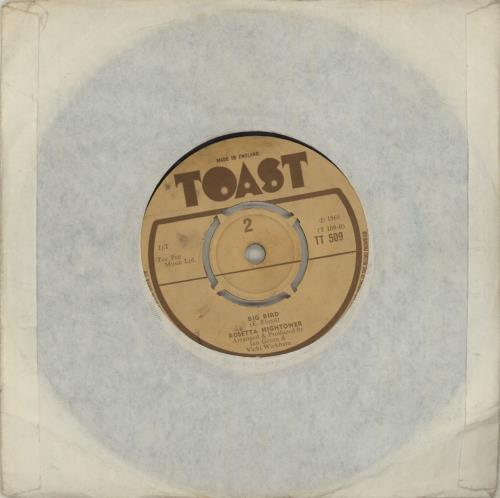 """Rosetta Hightower I Can't Give Back The Love I Feel For You 7"""" vinyl single (7 inch record) UK R6407IC683838"""