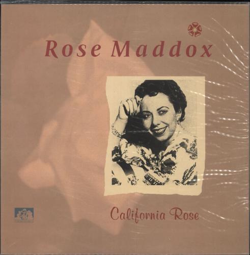 Rose Maddox California Rose vinyl LP album (LP record) UK ZYYLPCA721716