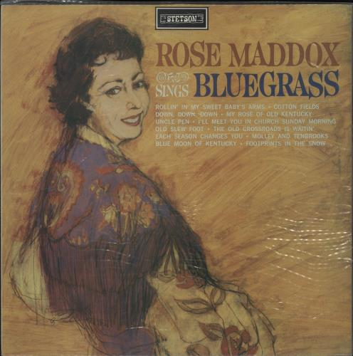 Rose Maddox Rose Maddox Sings Bluegrass vinyl LP album (LP record) UK ZYYLPRO763282