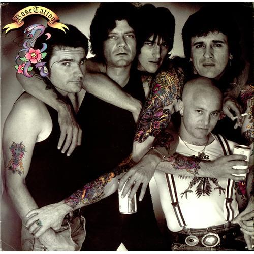Rose Tattoo Assault And Battery Australian Vinyl Lp Album