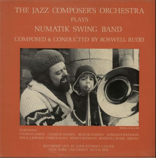 Roswell Rudd Numatik Swing Band vinyl LP album (LP record) UK W33LPNU618212