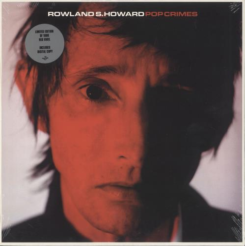 Rowland S. Howard Pop Crimes - Red Vinyl vinyl LP album (LP record) UK RWZLPPO742768
