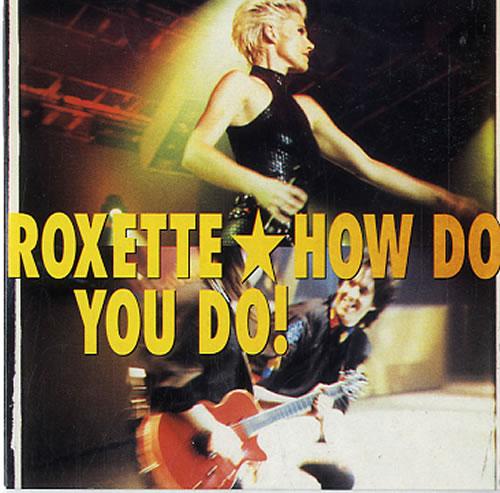 "How Do You Replace Bathroom Wall Tile: Roxette How Do You Do! Swedish CD Single (CD5 / 5"") (626218"