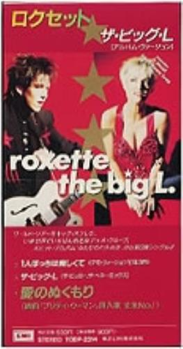 "Roxette The Big L 3"" CD single (CD3) Japanese ROXC3TH02423"
