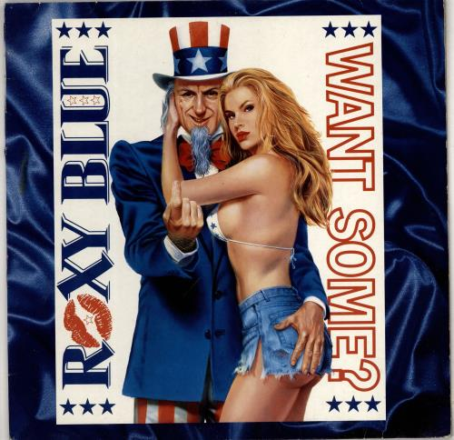 Roxy Blue Want Some? vinyl LP album (LP record) UK 3V8LPWA766451