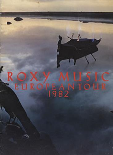 Roxy Music European Tour 1982 tour programme UK RXYTREU304094