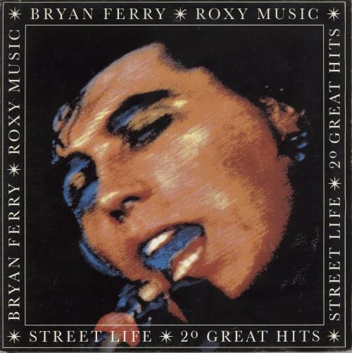 Roxy Music Street Life - 20 Great Hits 2-LP vinyl record set (Double Album) UK RXY2LST232046