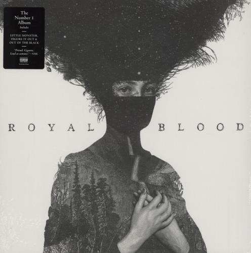 Royal Blood Royal Blood vinyl LP album (LP record) UK R-8LPRO758490