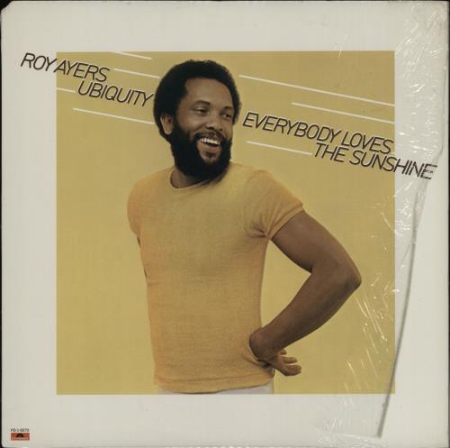 Roy Ayers Everybody Loves The Sunshine vinyl LP album (LP record) US RA1LPEV756004