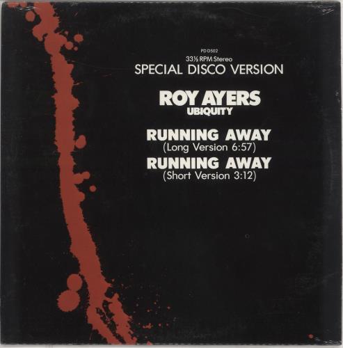 "Roy Ayers Running Away - Sealed 12"" vinyl single (12 inch record / Maxi-single) US RA112RU745831"