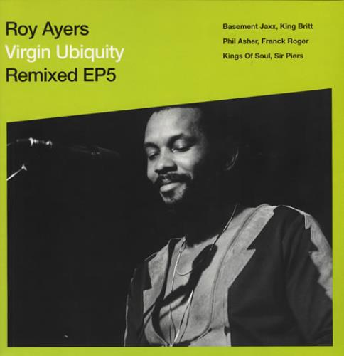 "Roy Ayers Virgin Ubiquity Remixed EP5 12"" vinyl single (12 inch record / Maxi-single) UK RA112VI353963"